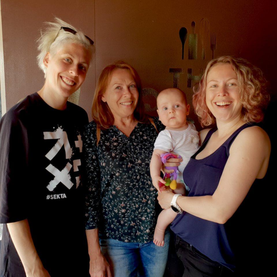 Lena Degtyar Family